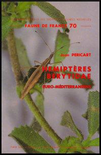 Couverture de la faune n° 70 - Hémiptères Berytidae euro-méditerranéens