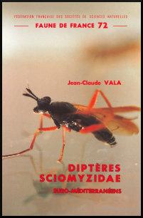 Couverture Faune de France 72 : Diptères Sciomyzidae euro-méditerranéens