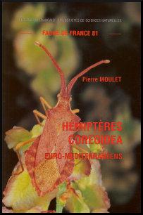 Couverture faune n° 81 - Hémiptères Coreoidea euro-méditerranéens
