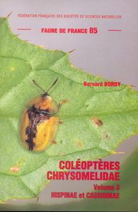 Couverture de la faune n° 85 Coléoptères Chrysomelidae