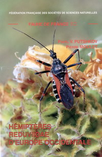 Couverture de la faune n° 92 - Hémiptères Reduvidae d'Europe occidentale