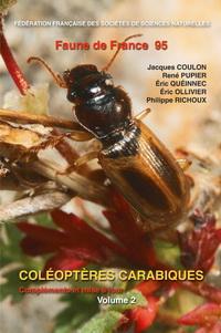 Couverture Faune de France 95 : Coléoptères Carabiques, compléments et mise a jour