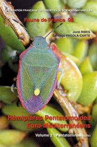 Couverture de la faune n° 96 - Hémiptères Pentatomoidea Euro-Méditerranéens (volume 2)